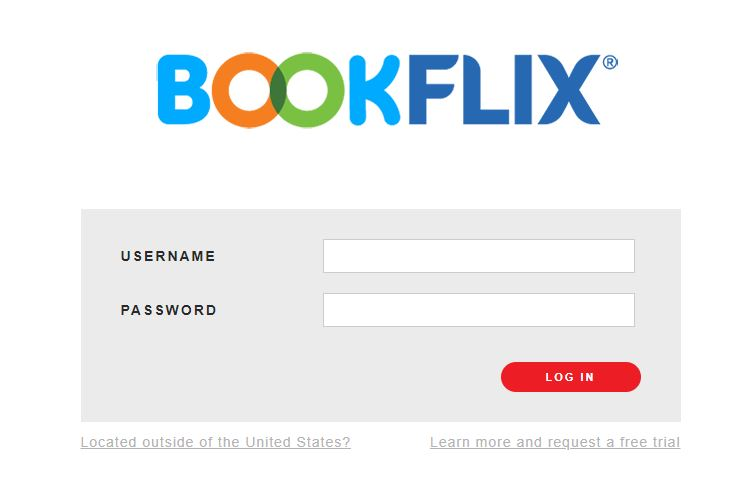 BookFLIX Sign in
