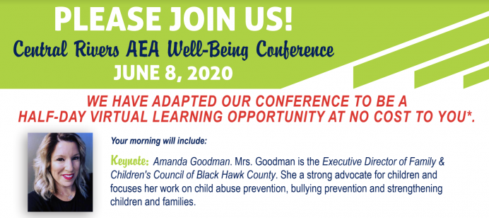 Virtual wellbeing conference to be held June 8