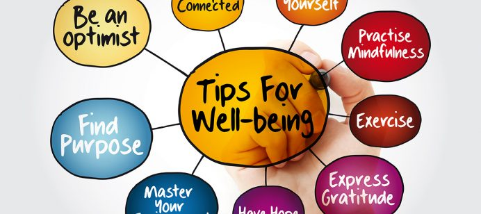 Wellbeing universal screening via virtual learning