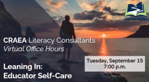 EXCITING NEWS: literacy team to offer virtual office hours
