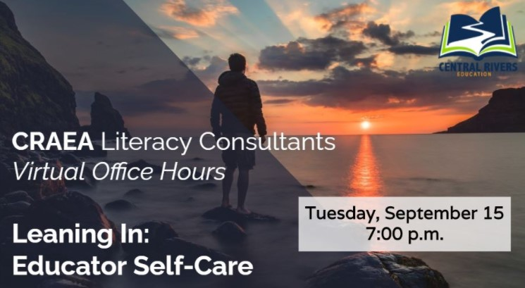 CRAEA Literacy Consultants Virtual Office Hours. Tuesday, September 15th, 7pm