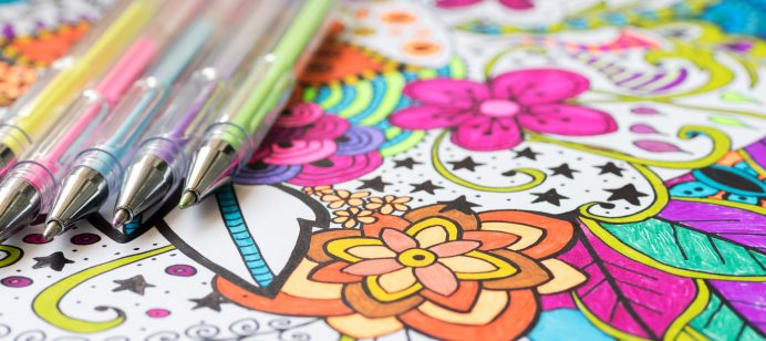 Self-Care coloring & activity books available for students