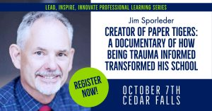 Image of Jim Sporleder, creator of the documentary Paper Tigers: how being trauma-informed transformed his school